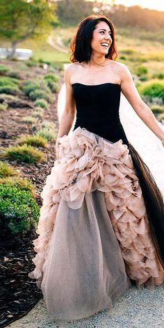 Black Wedding Dresses & Gowns For The Alternative Bride