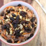 Carrot Cake Meets Breakfast in This Slow-Cooker Oatmeal