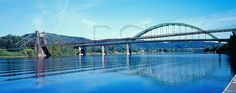 Wheeling Suspension Bridge And Fort Henry Bridge Oh The Places You'll Go, Places Ive Been, Panoramic Pictures, Panoramic Photography, Us Travel Destinations, Across The Border, Suspension Bridge, Wheeling, Take Me Home
