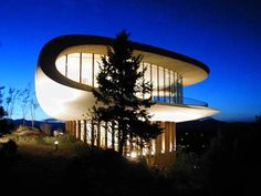 Hovering high above I-70 in the foothills of Denver is the famous landmark, the Sculptured House. Originally built in the mid-1960's by architect Charles Deaton, the home is internationally recognized as one of the finest examples of modern organic architecture in the world.