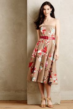 Erika Cavallini Semicouture Embroidered Amarena Dress #anthroregistry