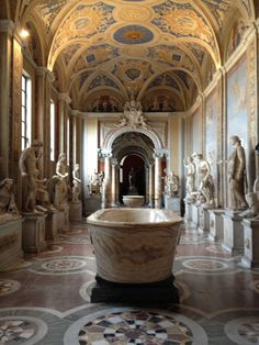 The Vatican Museums. A single room can blow your doors off. You could easily spend days, even weeks, wandering through one of the greatest museums in the world.