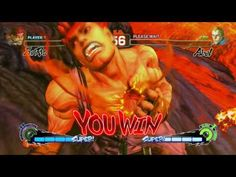 Evil Ryu's Messatsu-Goshoryu Ultra with Arcade Victory Quotes - Part 1 Victory Quotes, Balrog, Man Vs, Venom, Victorious, Spiderman, Marvel, Baseball Cards, Movie Posters