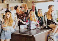 Red Velvet : Ice cream cake photoshoot