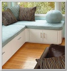 Diy Corner Bench with Storage and Seating. top 10 Simple Diy Corner Bench with Storage and Seating You Have to See. Modern Family Room with Corner Storage Bench Seat Round Ball Blue Kitchen Corner Bench Seating, Kitchen Table With Storage, Corner Bench With Storage, Modern Storage Bench, Window Seat Kitchen, Storage Bench Seating, Seat Storage, Table Storage, Storage Shelves