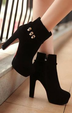 Biker Boots,Fashion Skull Leather M ~ Only Fashion