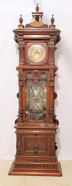 Magnificent Lenzkirch Grandfather Clock, Made, Circa 1860