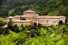Towers and palace of the Ayala family, Quejana, Alava, Basque Country, Spain