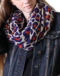 Amazon.com: Anika Dali Women Animal Print Infinity Loop Scarf (Sophie Leopard Black Brown): Clothing