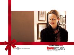 Love Actually Characters - Laura Linney Love Actually 2003, Laura Linney, Hd Love, Hugh Grant, London Christmas, Star Wars, Liam Neeson, Chick Flicks, Action Movies