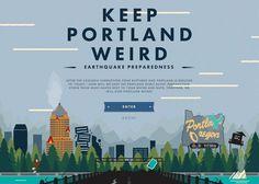 Keep Earthquakes Weird   CSS Website