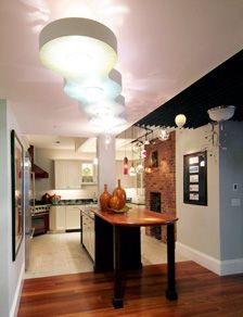 By Lucia Lighting Design Great Transitional Piece To Pull People From One Area