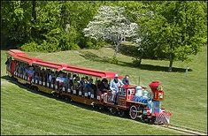About an hour a way.  Lots of activities for young kids including miniature train, carousel, mini-golf and playgrounds.