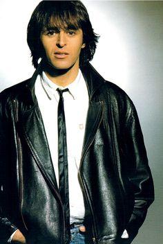Jean Jacques Goldman, I Love Music, Jeans, Leather Jacket, Portrait, Vintage, Celebrities, People, Fictional Characters