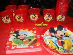 Cumpleaños Mickey Mouse.