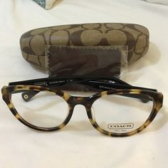 1da6ba030c Coach eyeglasses brand new Coach cat-eye tortoise eyeglass frame brand new   Coach Accessories Glasses