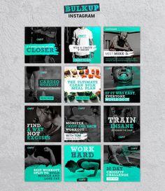 Social Media Ad, Social Media Banner, Social Media Template, Social Media Design, Instagram Design, Instagram Grid, Twitter Template, Instagram Post Template, Mise En Page Portfolio