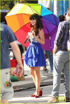 I love Zooey Deschanel's style :D