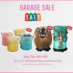 Sprinkle My Candles- Pink Zebra Independent Consultant: July Pink Zebra Garage SALE!! 2 days only. Save up...