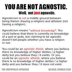 A christian dating an agnostic