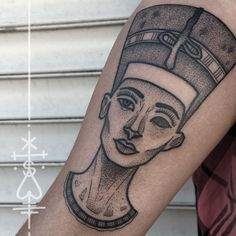 nefertiti tattoo - Google Search                                                                                                                                                     More