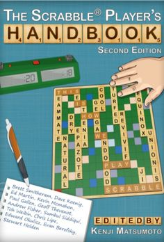 The Scrabble Player's Handbook Player's Handbook, Board Games, Image, Tabletop Games, Table Games