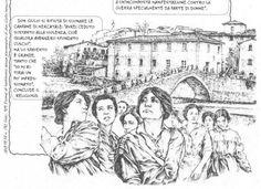 Il tirreno » Donne in marcia contro la guerra, un libro a fumetti con i testi tratti dai documenti storici