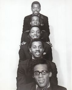 Motown super group The Temptations 1970 with David and Eddie gone