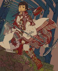 「海の杜」by「コタケ」のイラスト [pixiv] member ID:598083