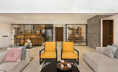 Completed in 2015 in Mumbai, India. Images by Kunal Bhatia. We come from a time where spaces are getting smaller but expectations are getting much larger. There is this constant fight between reality and...