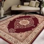 Home Dynamix Bazaar Emy Red/Ivory 7 ft. 10 in. x 10 ft. 1 in. Area Rug-1-HD2587-215 - The Home Depot