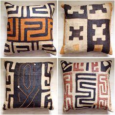 Kuba cloth cushions                                                       …                                                                                                                                                                                 Mais
