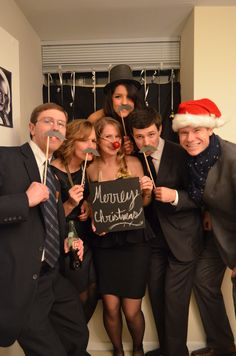 Old Hollywood Christmas Party 2011 Photo Booth