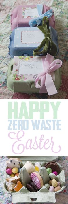 How to have a happy, Zero Waste Easter #easter #zerowaste