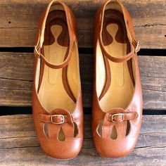 RESERVED FOR LOUISE/Vintage Brown Ballet Flats/ Vintage Chloe Ballet Flats with Ankle Strap/Vintage Mary Jane Ballet Flats