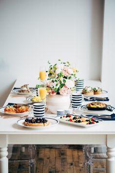 cute breakfast tablescape!