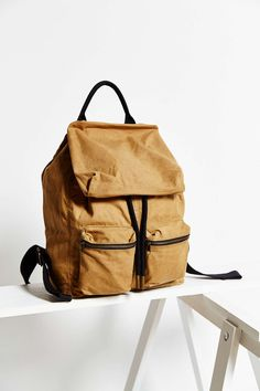 UO Canvas Army Backpack