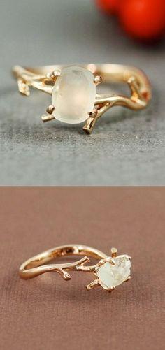 Twig Amethyst Ring keep.com