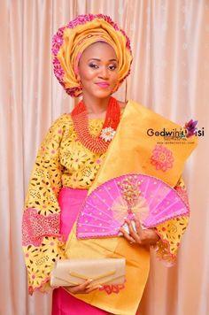 Nigerian wedding yoruba traditional engagement Debbie & George Godwin Oisi Photography 9