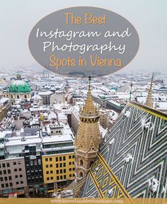 Want to know some of the best spots in Vienna for photography and Instagram? In