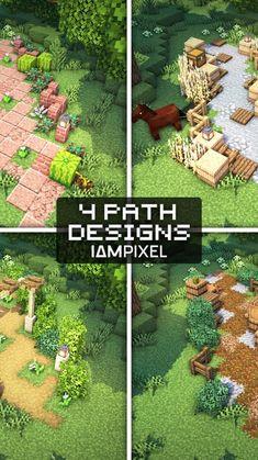 Minecraft Garden, Minecraft Farm, Minecraft Mansion, Minecraft Cottage, Cute Minecraft Houses, Minecraft Construction, Amazing Minecraft, Minecraft Blueprints, Minecraft Buildings