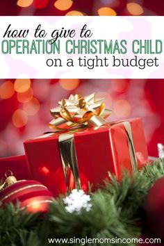 Looking for an easy way to give this Christmas? Here are some ideas for packing Operation Christmas Child boxes on a budget.