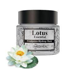 MEDIHEAL Primrose Hydrop Lotus Essential Mask 55m Moisture Cream Combined #MEDIHEAL