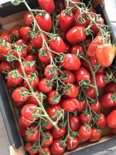 Zelf tomatensoep maken met verse tomaten - Mind Your Feed Tasty Dishes, Carrots, Stuffed Peppers, Vegan, Fruit, Vegetables, Recipes, Food, Wraps
