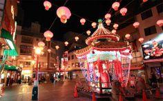 Chinese New Year in Kobe Chinatown, Japan