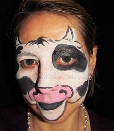 Pin by Ginger Davies on face paint | Pinterest | Cow and Grandkids