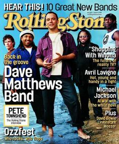 ALL TIME FAVORITE BAND! AMAZING, HIP, GENIUS, I COULD GO ON FOREVER!