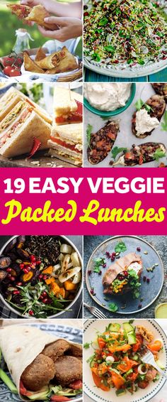 19 EASY VEGETARIAN PACKED LUNCH IDEAS Buying your lunch is about to feel like a crime...