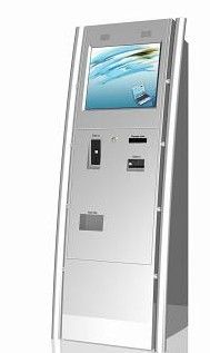 The sleek finish of Slabb's X6 bill payment kiosk