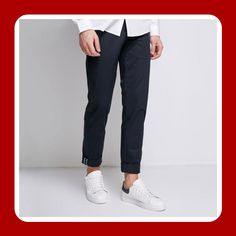 Might look a bit too classy but they're not, their slim fit and elasticity make them perfectly Smart-Casual. Cotton, Lycra and Spandex materials. Spandex Material, Trousers, Pants, Smart Casual, Classy, Slim, Fitness, How To Make, Cotton
